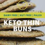 dairy free keto bread