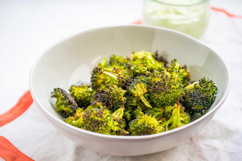 The Best Crispy Roasted Broccoli The Castaway Kitchen
