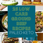 25 low carb ground beef recipes