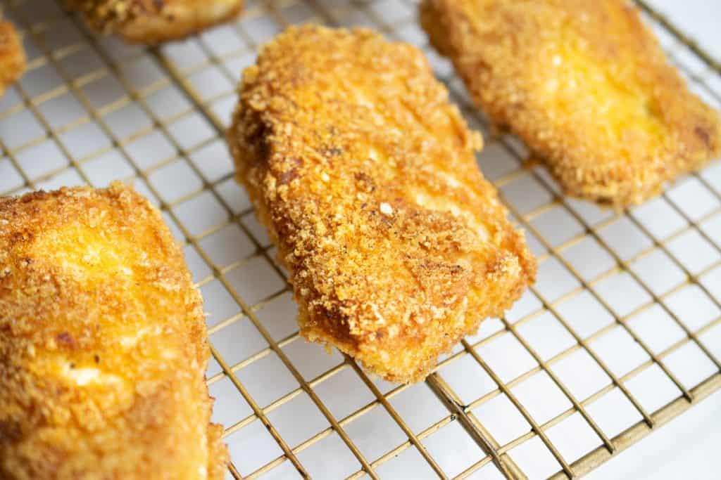 Keto Fried Fish: Pork Panko Crusted Halibut