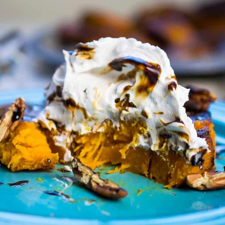 Deconstructed Pumpkin Pie | The Castaway Kitchen