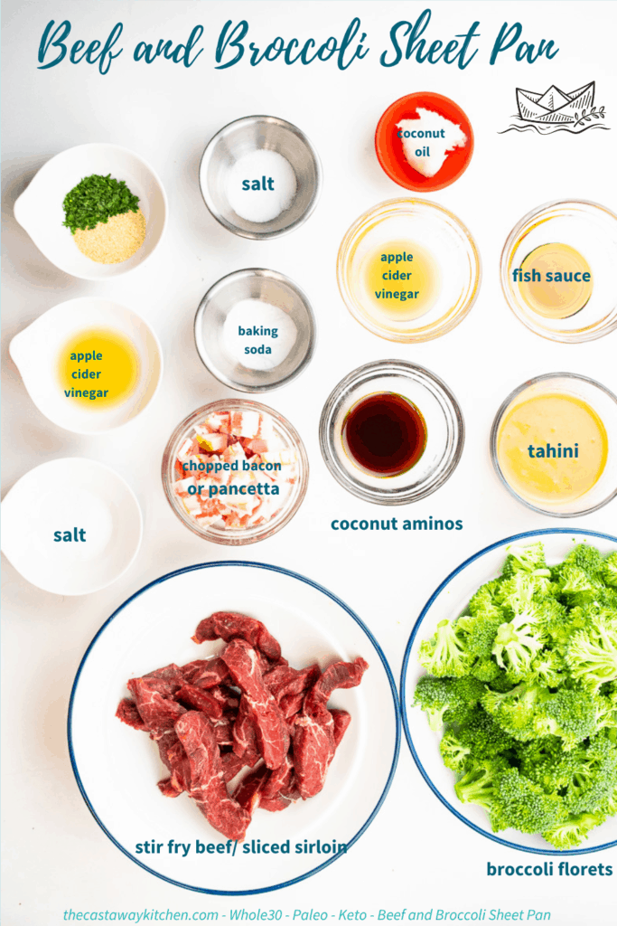 WHOLE30 BEEF AND BROCCOLI INGREDIENTS