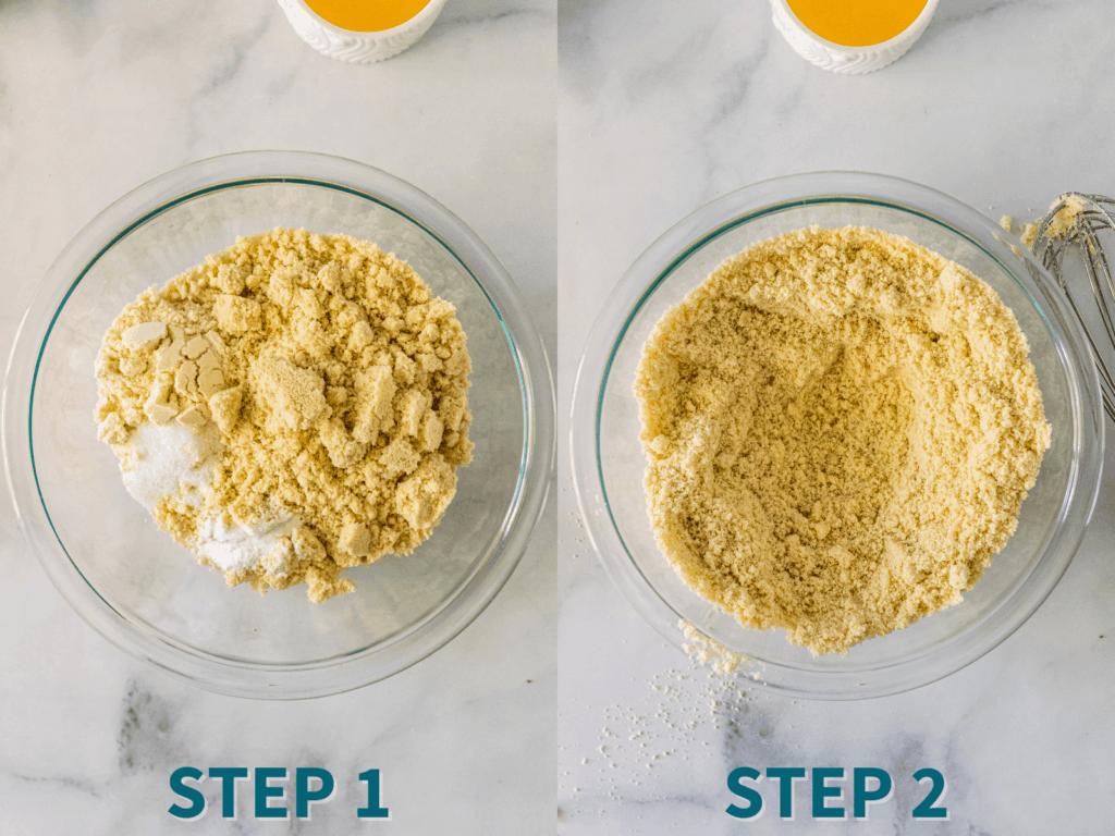 step by step keto muffins