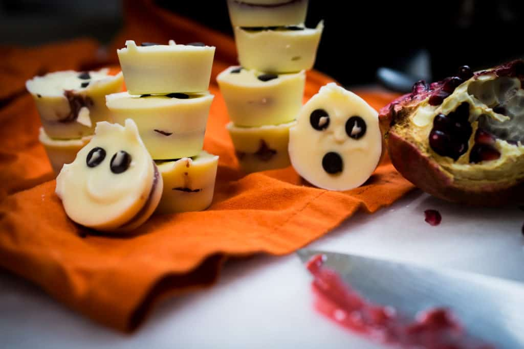 Homemade Halloween Candy (no food coloring, sugar free)