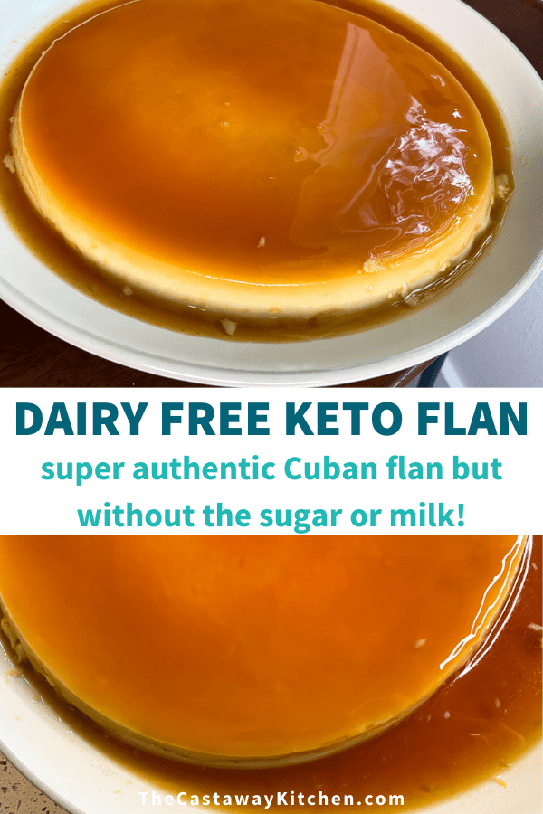 dairy free keto flan