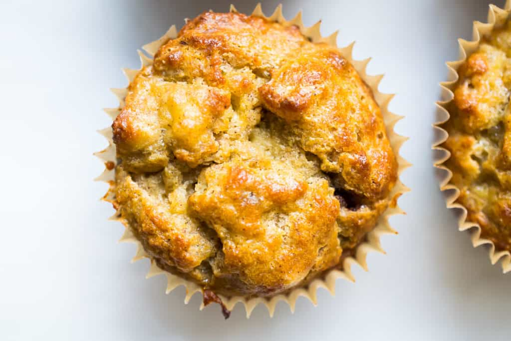 gluten free banana nut muffins