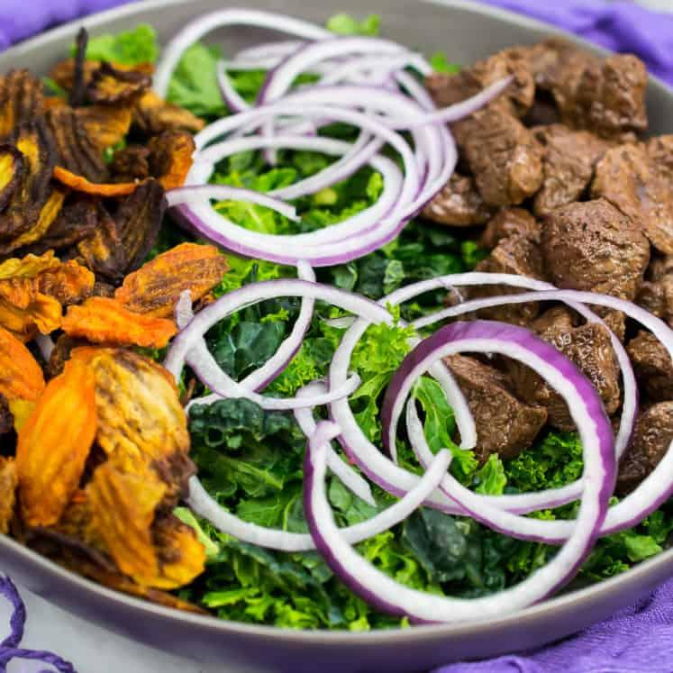 whole30 steak salad