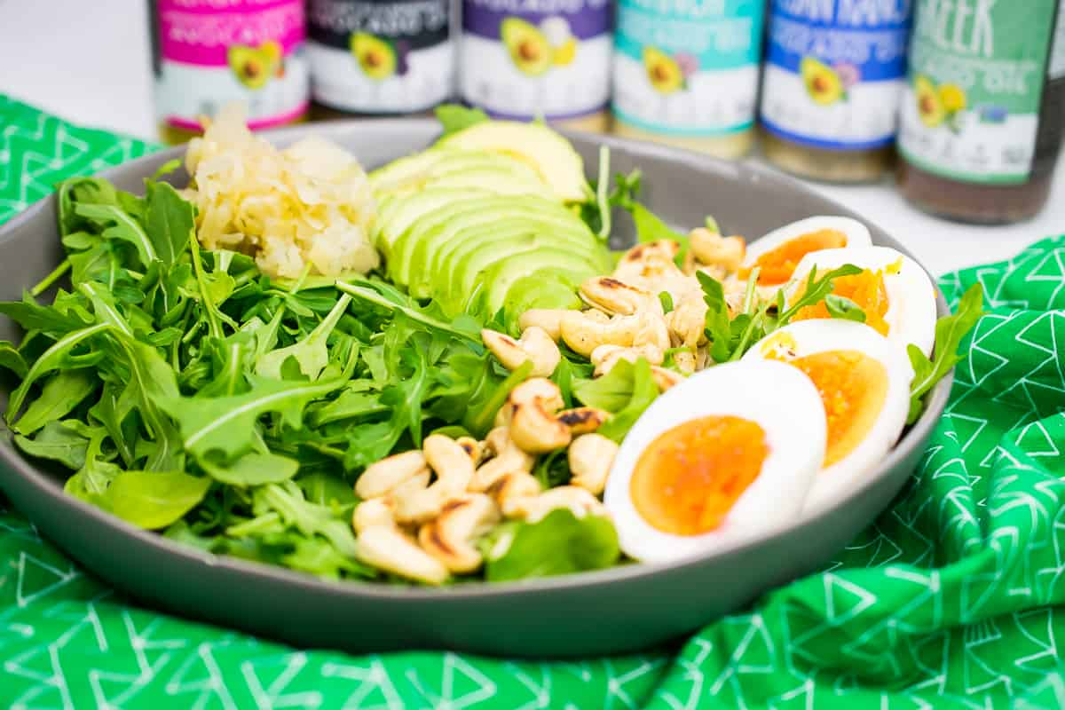 vegetarian whole30 salad