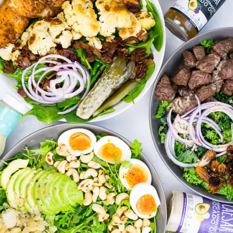 whole30 salad keto