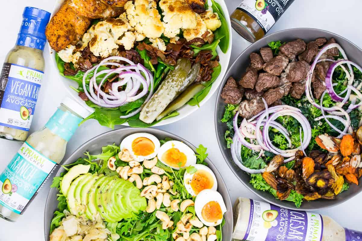 whole30 salad keto