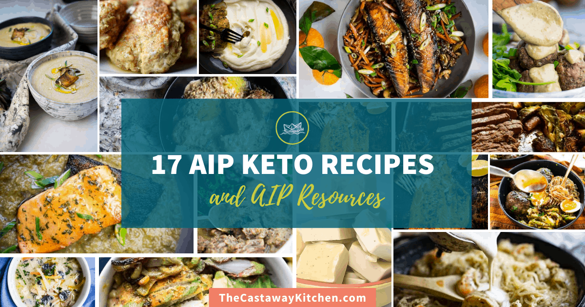 17 AIP Keto Recipes: Breakfast, Lunch, Dinner, + Dessert! | The Castaway Kitchen