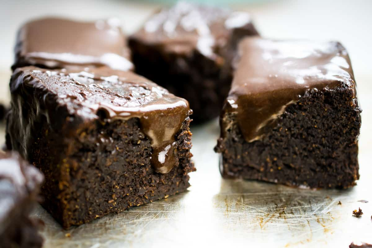 aip brownie with frosting