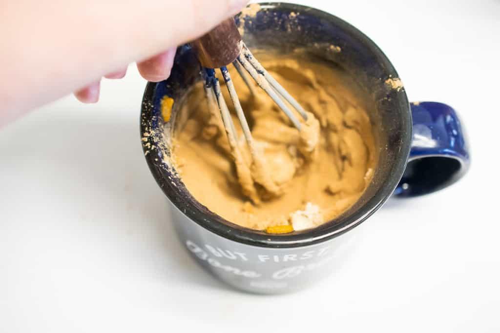 aip brownie mug cake