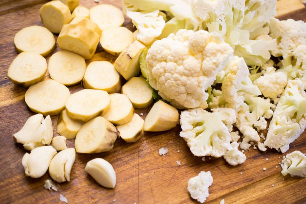aip cauliflower colcannon