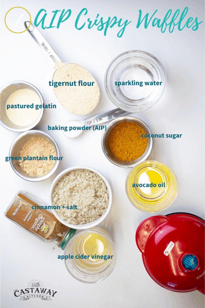 aip waffle ingredients