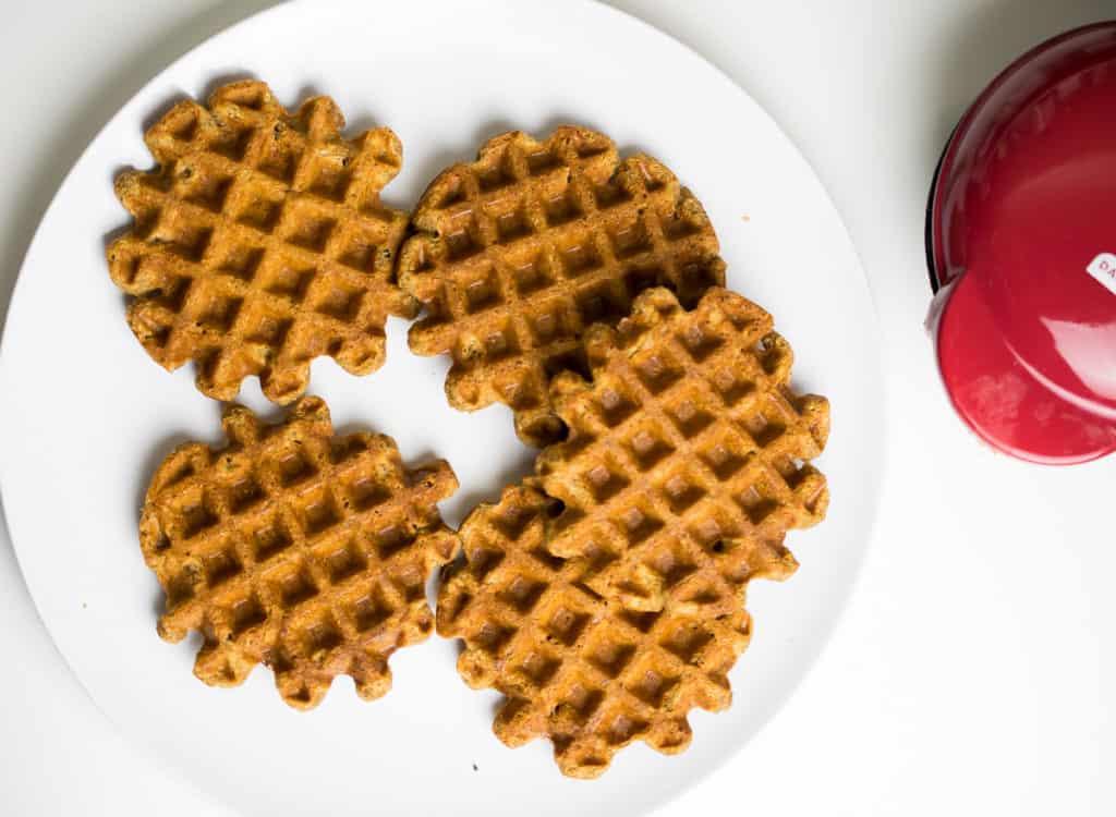 crispy aip waffles
