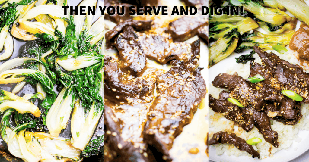 paleo korean beef dinner