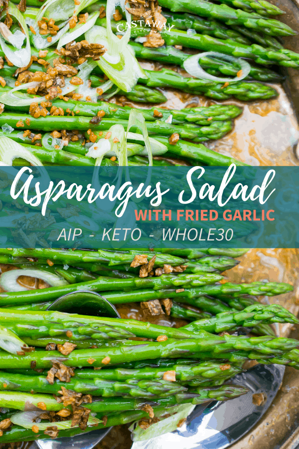 Bright and simple, this Asparagus Salad is a celebration of Spring. Really letting the flavors of the vegetables shine!