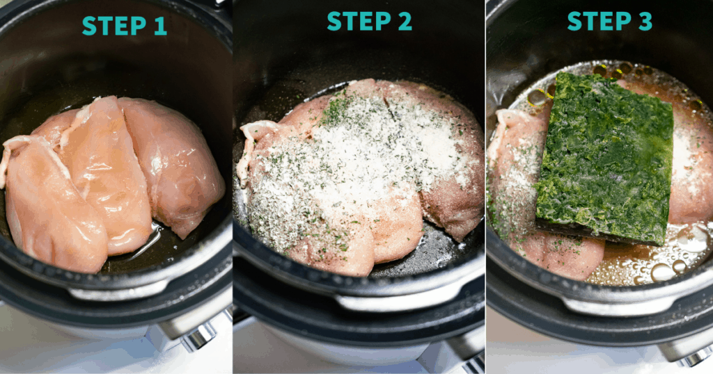 Step by step instructions for AIP Chicken Casserole.