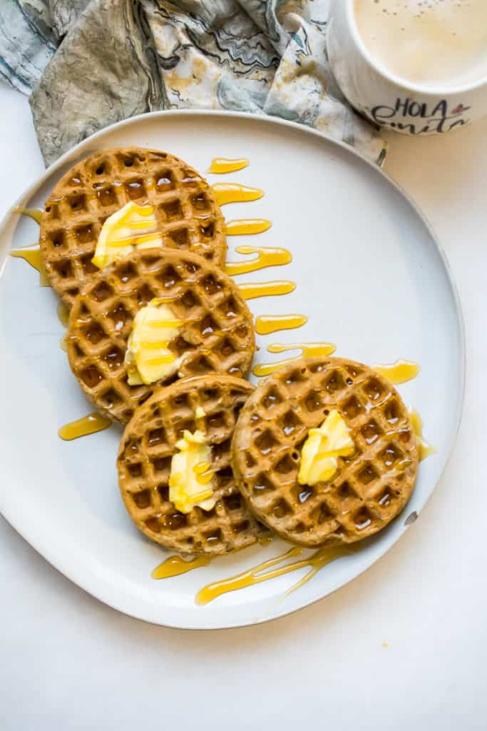 nut free paleo waffles