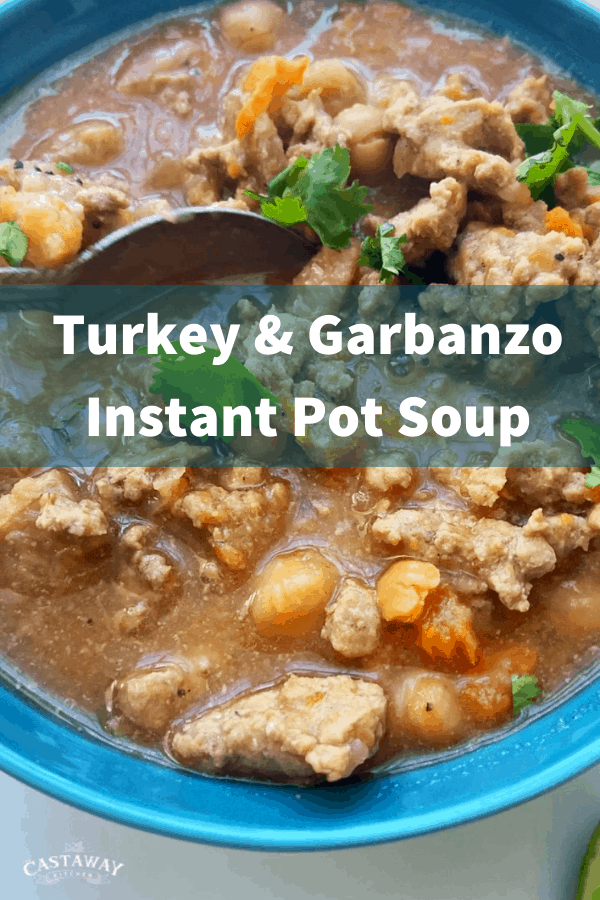 turkey and garbanzo soup